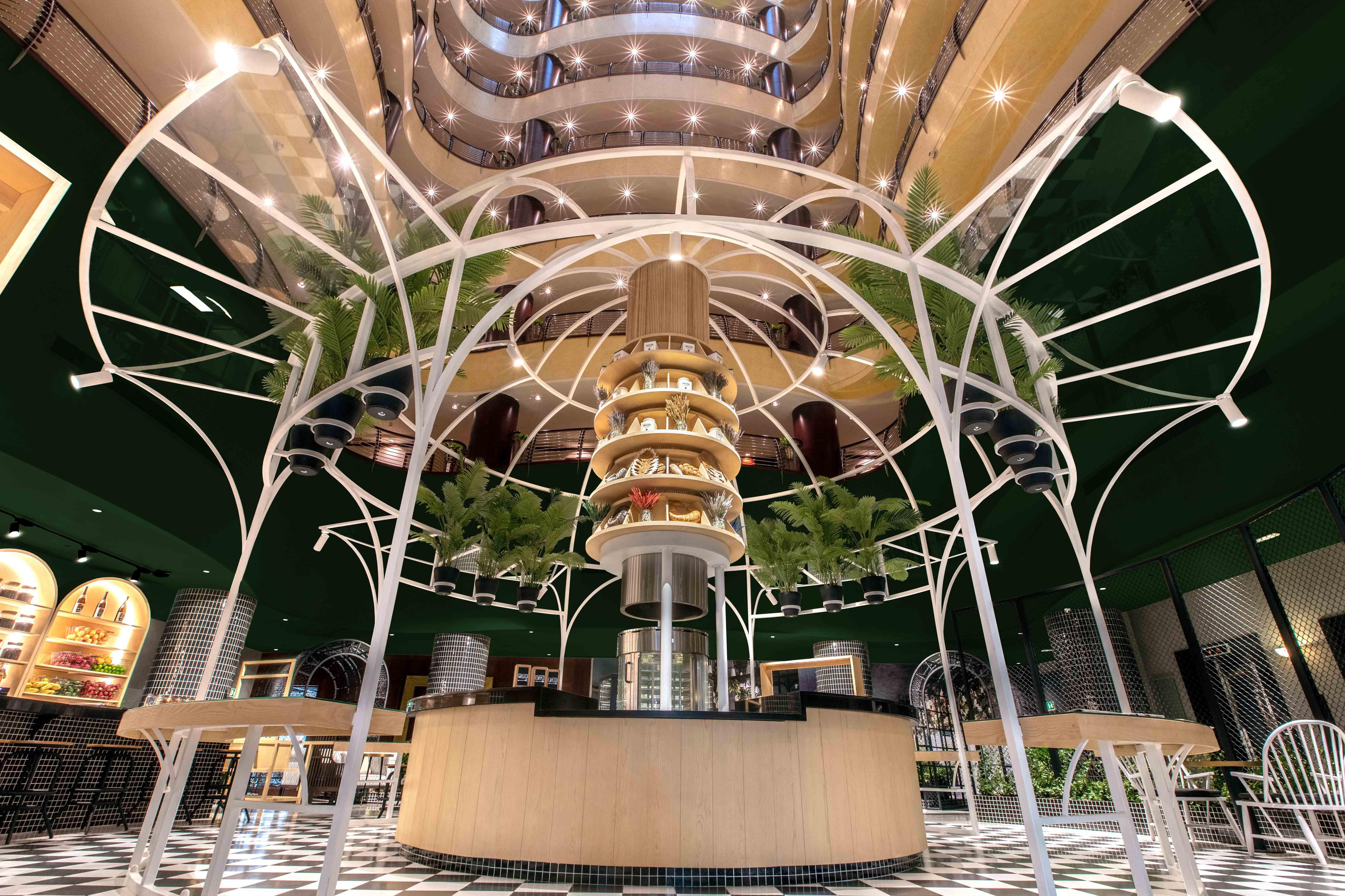 Creneau Interior Design Agency Dubai Middle East Dusit Thani Hotel Lobby