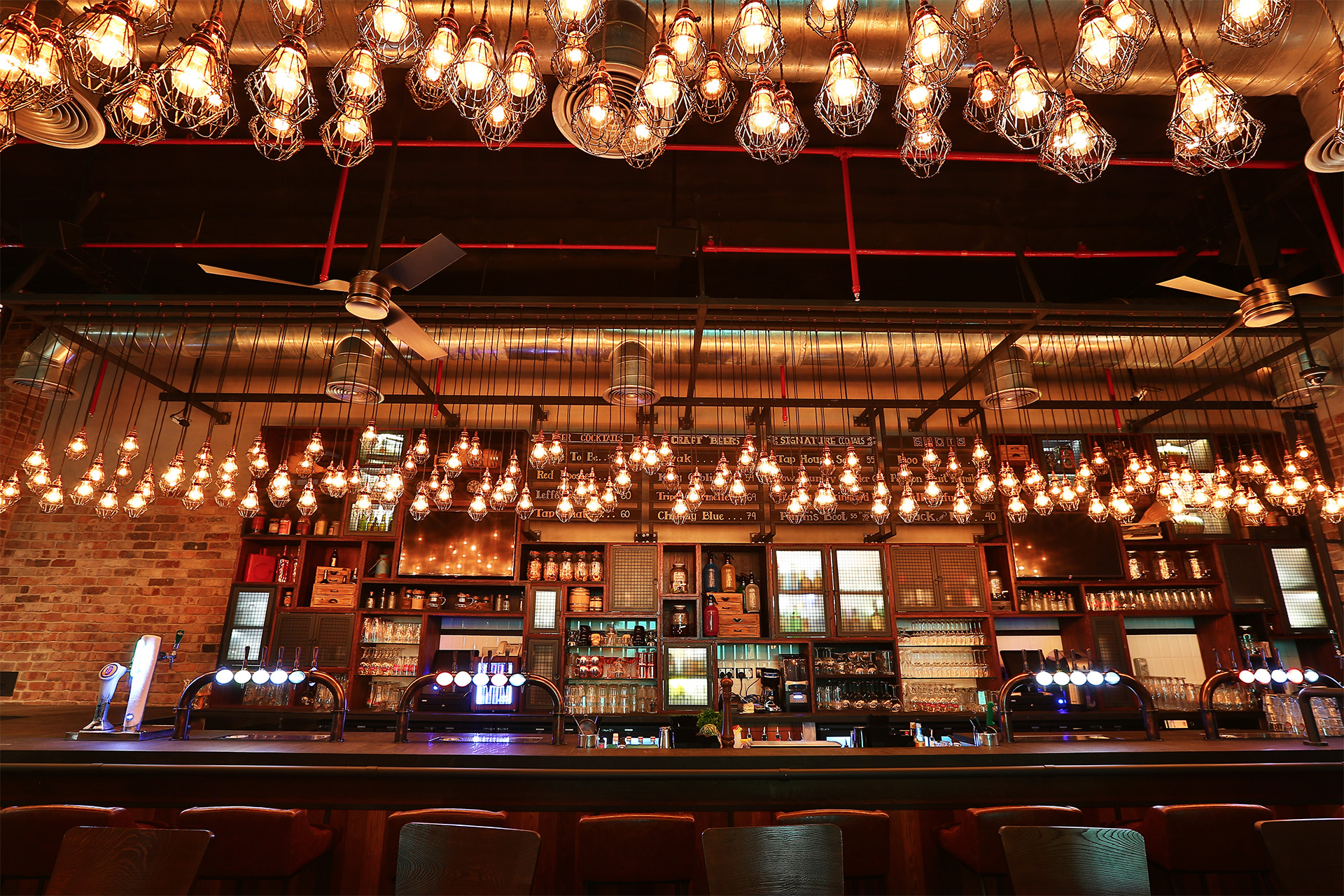 Creneau Interior Design Agency Dubai Middle East Tap House Bar Design
