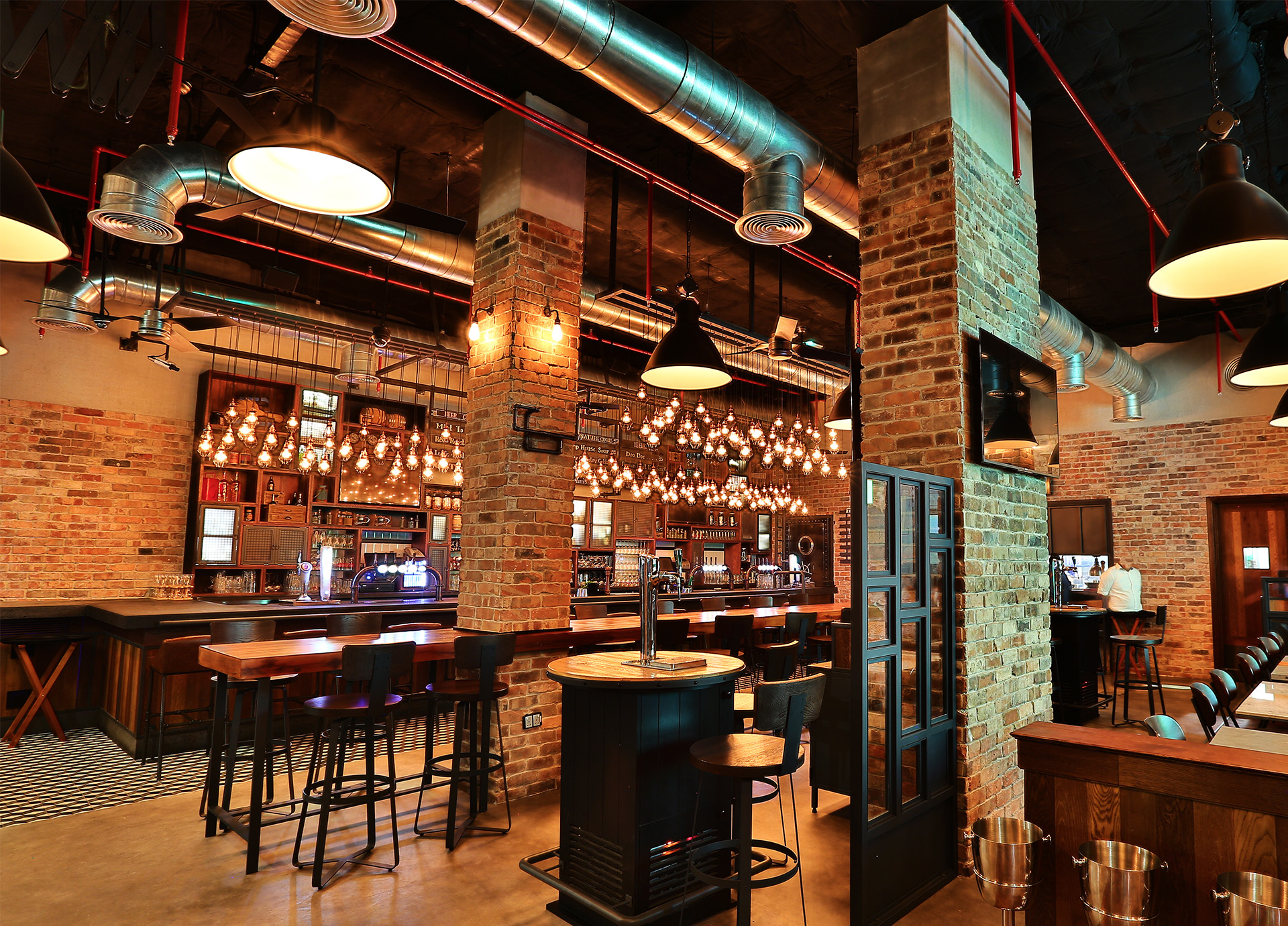Creneau Interior Design Agency Dubai Middle East Tap House Interior