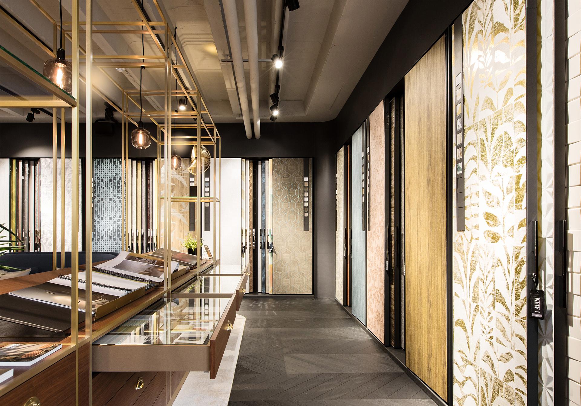 Creneau Interior Design Agency Dubai Middle East Arte Product Presentation