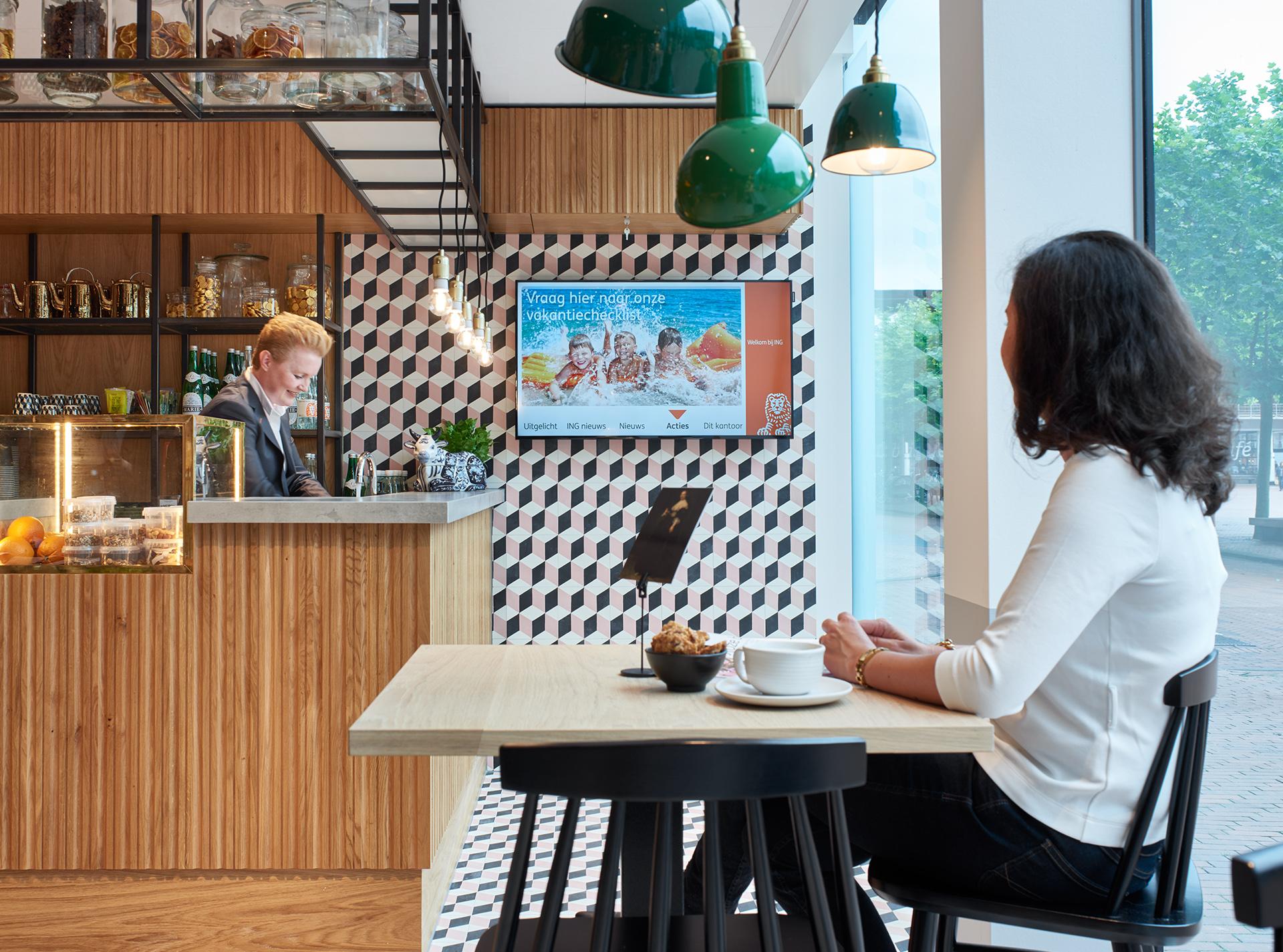 Creneau Interior Design Agency Dubai Middle East ING Bank Cafe