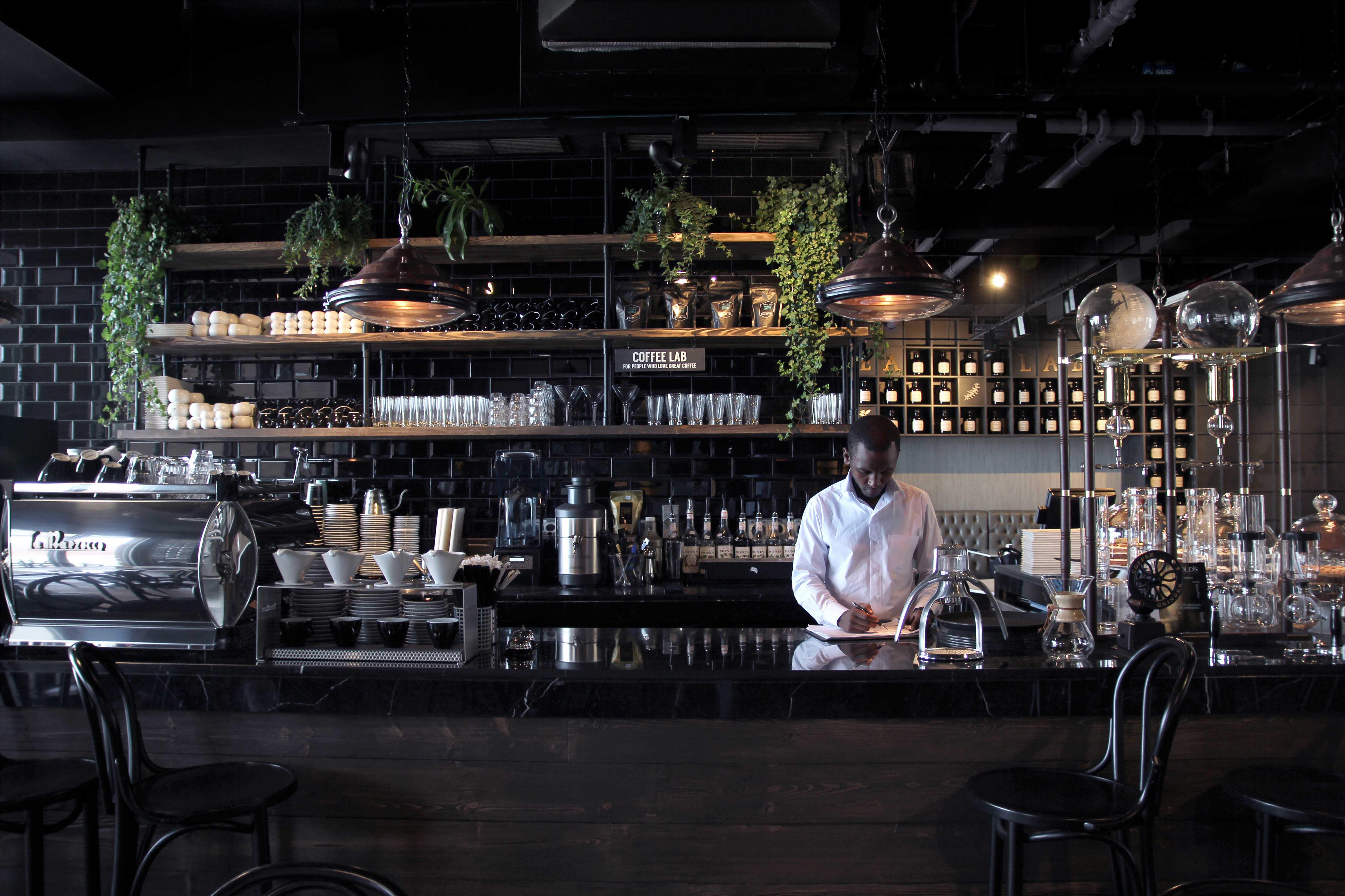 Creneau Interior Design Agency Dubai Middle East Leopold's of London Main Bar