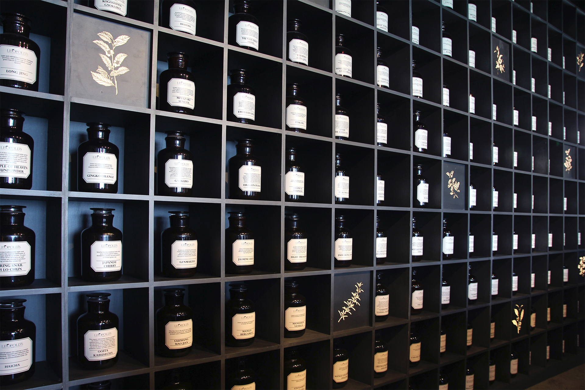 Creneau Interior Design Agency Dubai Middle East Leopold's of London Apothecary Inspiration